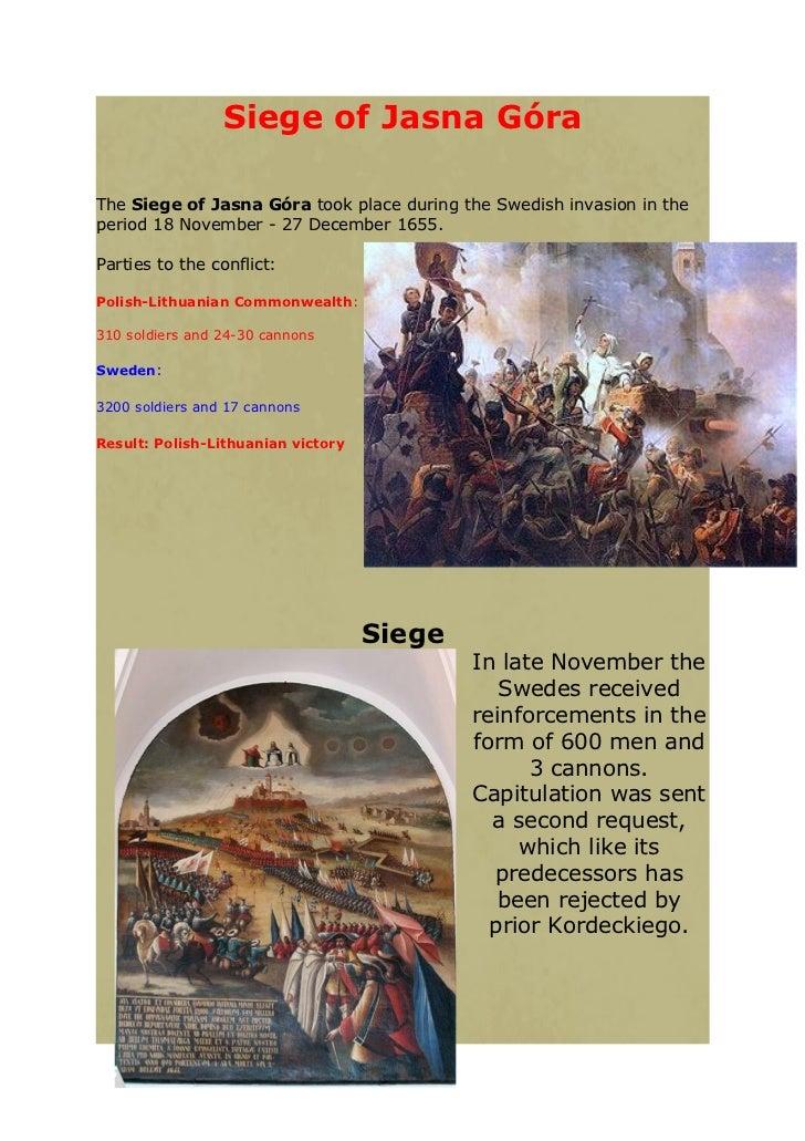 Siege of Jasna Góra