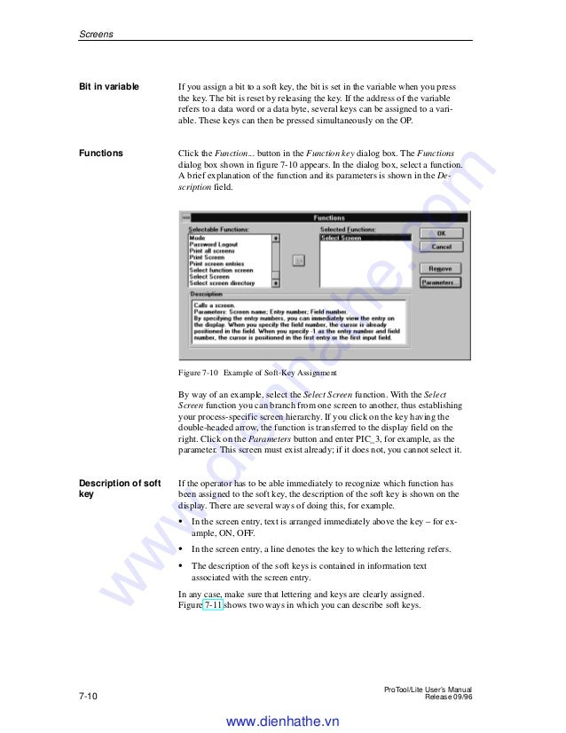 Siemens catalog hmi-protool lite configuration software manual