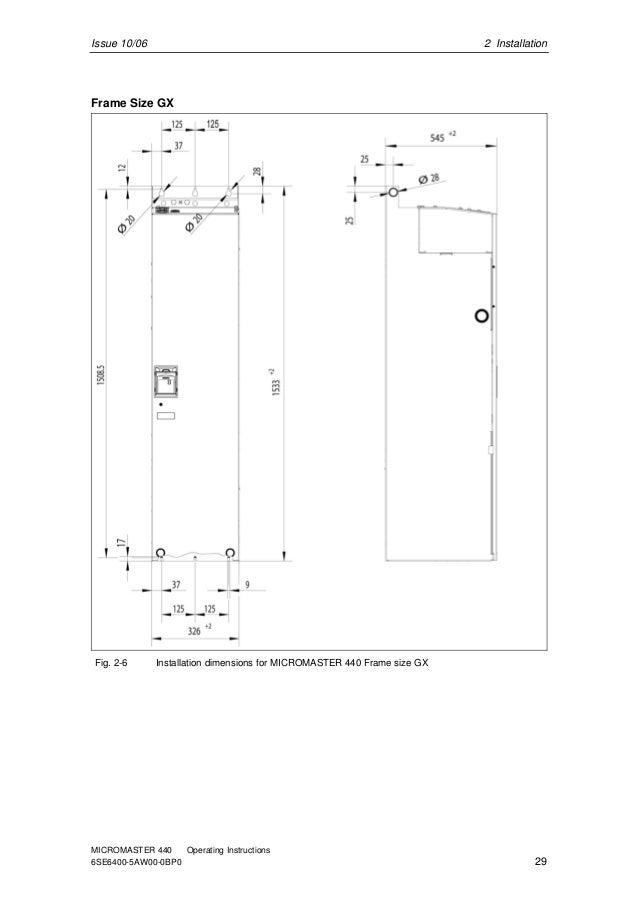 Siemens micromaster-440-manual