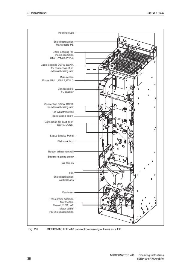 Siemens Micromaster 440 Control Wiring Diagram Wiring
