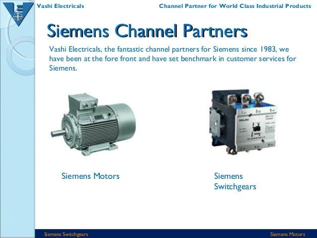 vashi electricals distributors for siemens motors switchgears