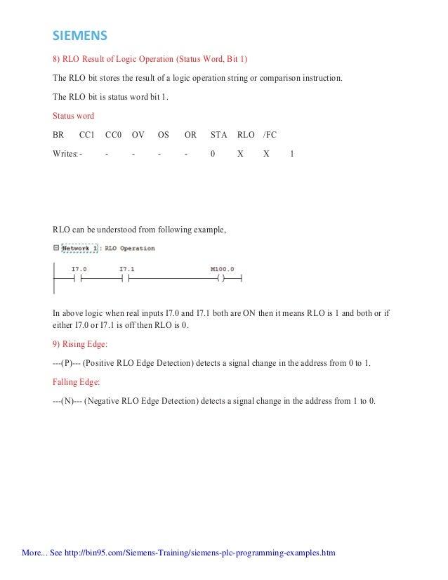 siemens plc programming examples pdf