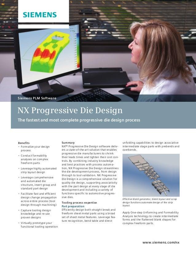 NX Progressive Die Design