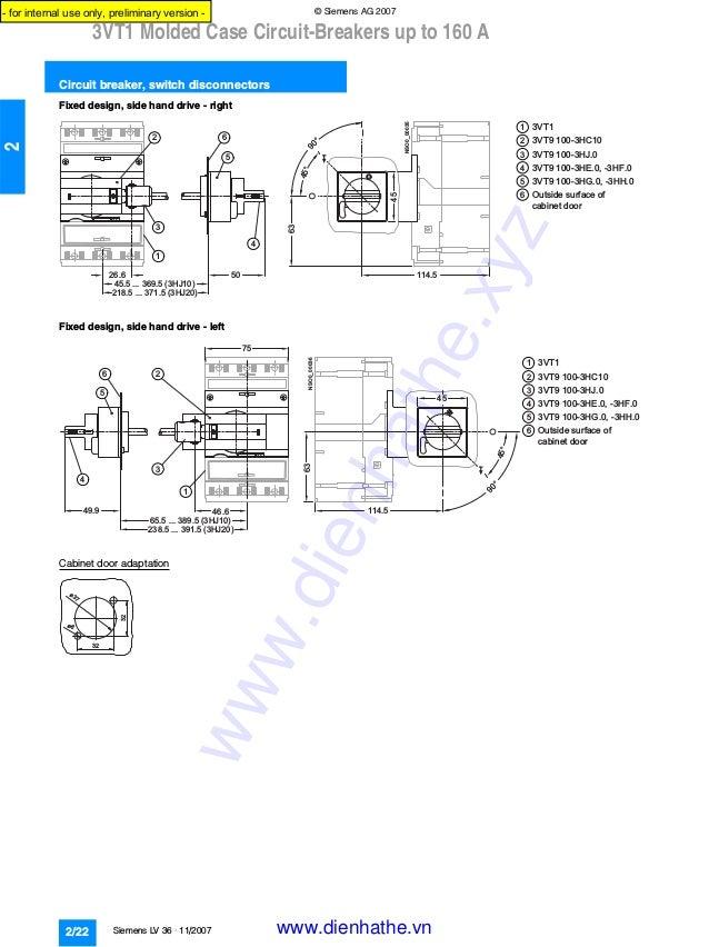 siemens catalog circuit breakers 3 vtlv36112007