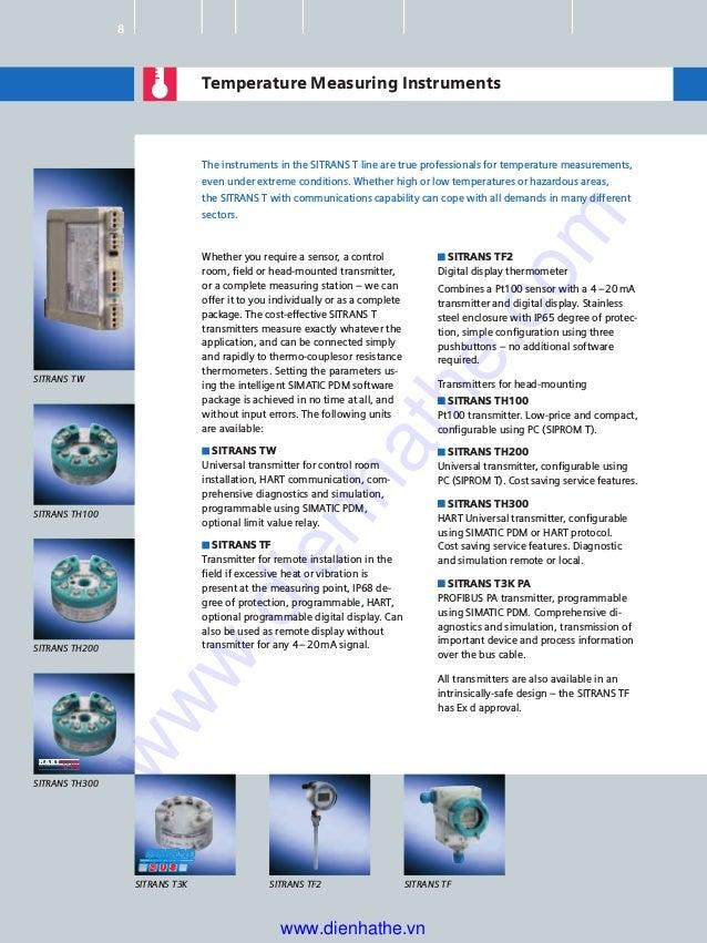 Siemens catalog tong hop process