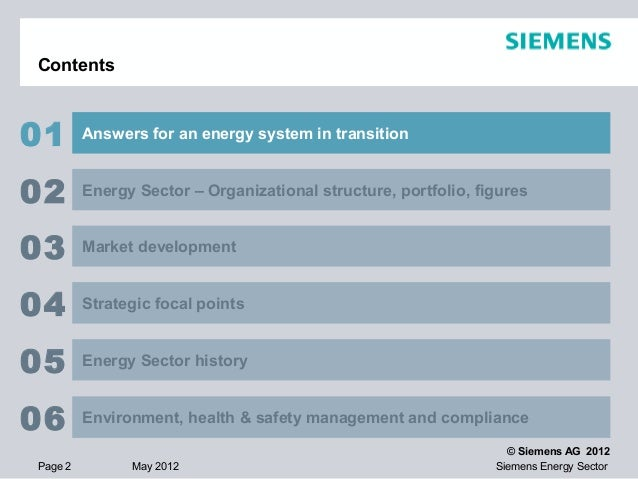siemens energy powerpoint, Presentation templates