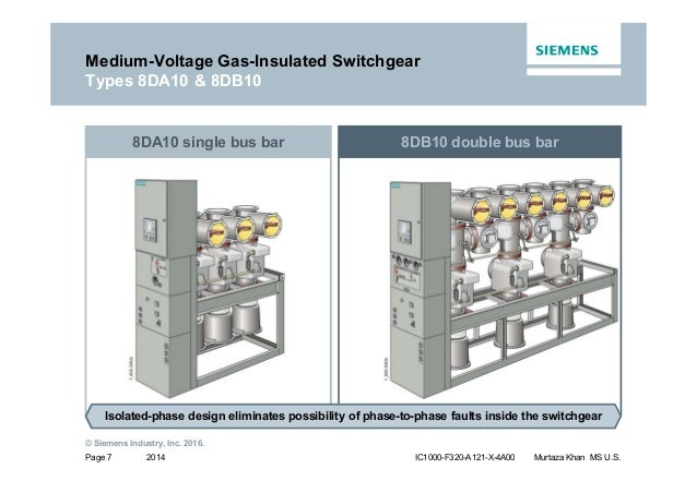Siemens MV GIS Switchgear