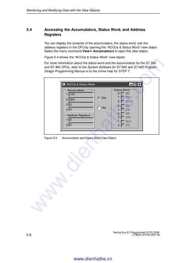 Siemens s7 300-400-testing your s7 programs with s7 plcsim