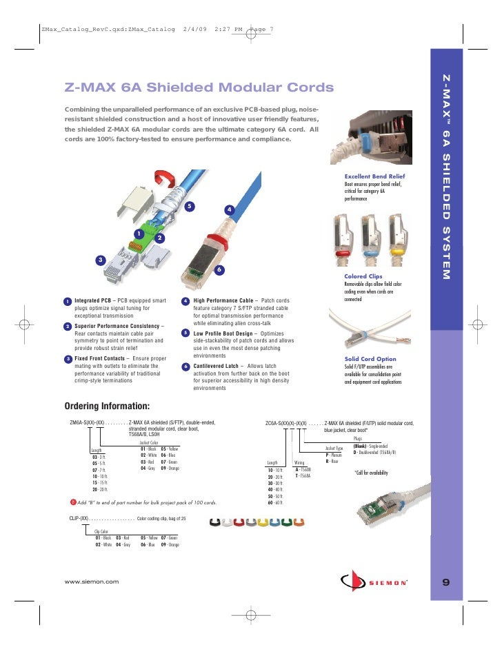 siemon z max catalog 8 siemon com 9