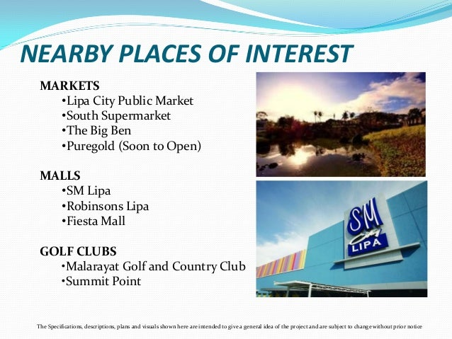 Sienna Hills Lipa Batangas Pre Selling Project By