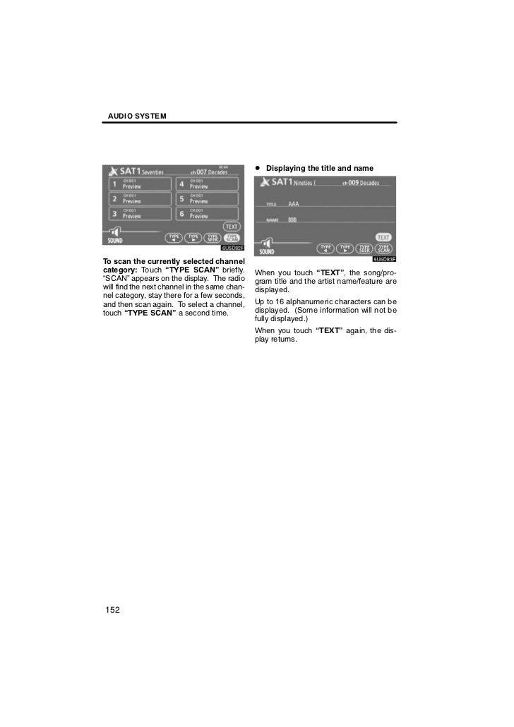 2012 Toyota Sienna Audio System