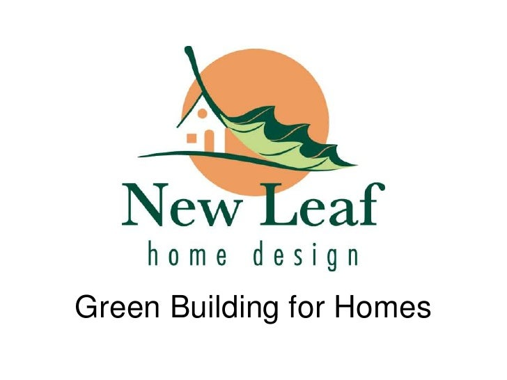 Green Building for Homes