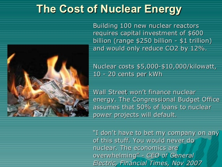 nuclear energy a solution to the It is clear something needs to be done, but is the answer nuclear energy for  many it is simple we need energy and we need it now, and not.