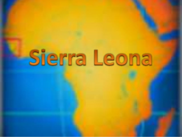 Sierra leona power point