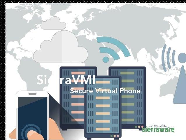SierraVMI Secure Virtual Phone