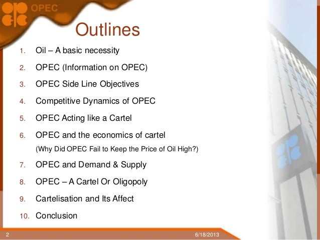 opec case study of oligopoly