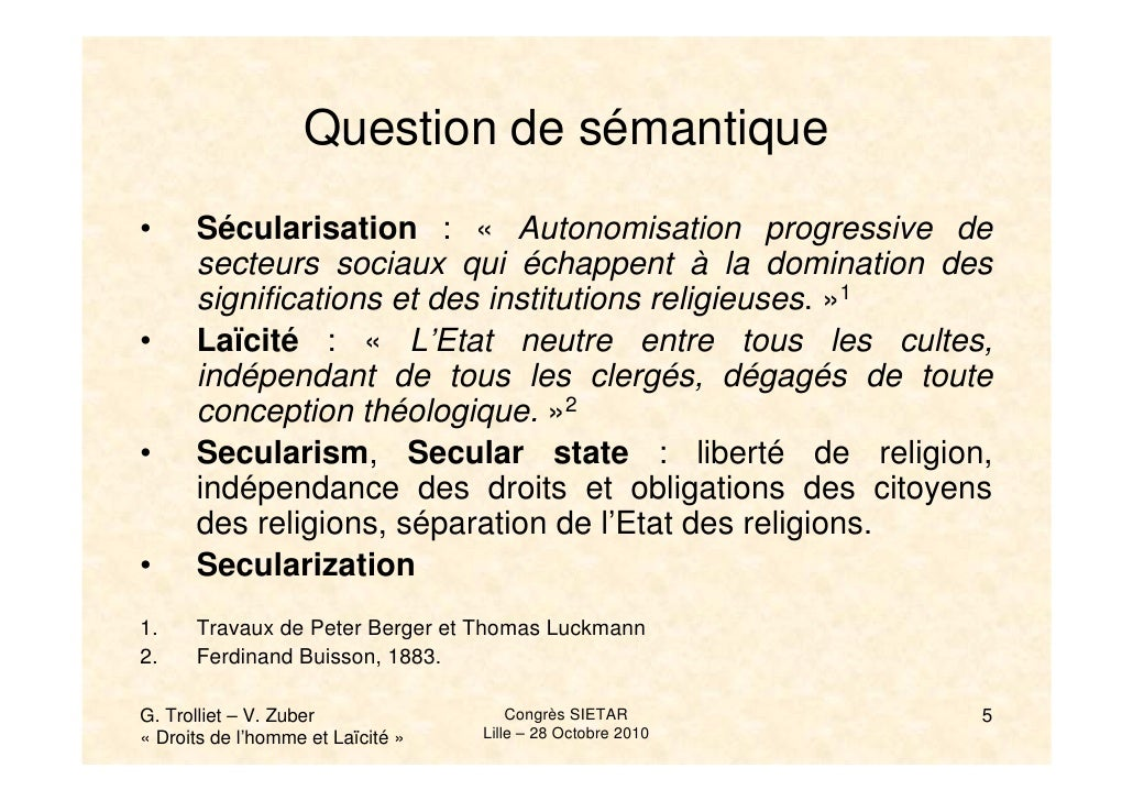 berger secularization thesis