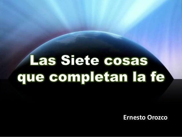Ernesto Orozco