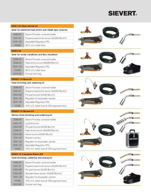Sievert Industries 3348-91 Burner for Promatic