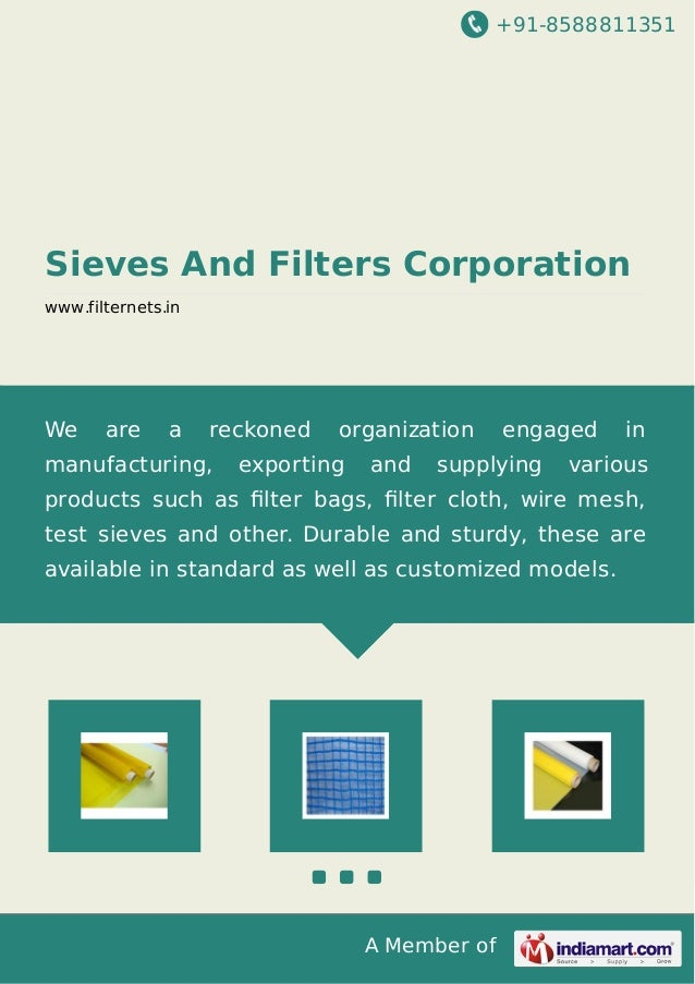 Sieves and-filters-corporation