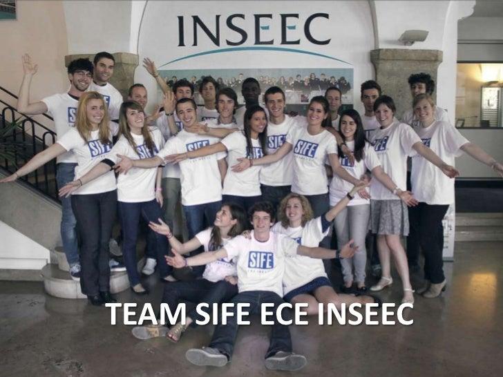 TEAM SIFE ECE INSEEC<br />