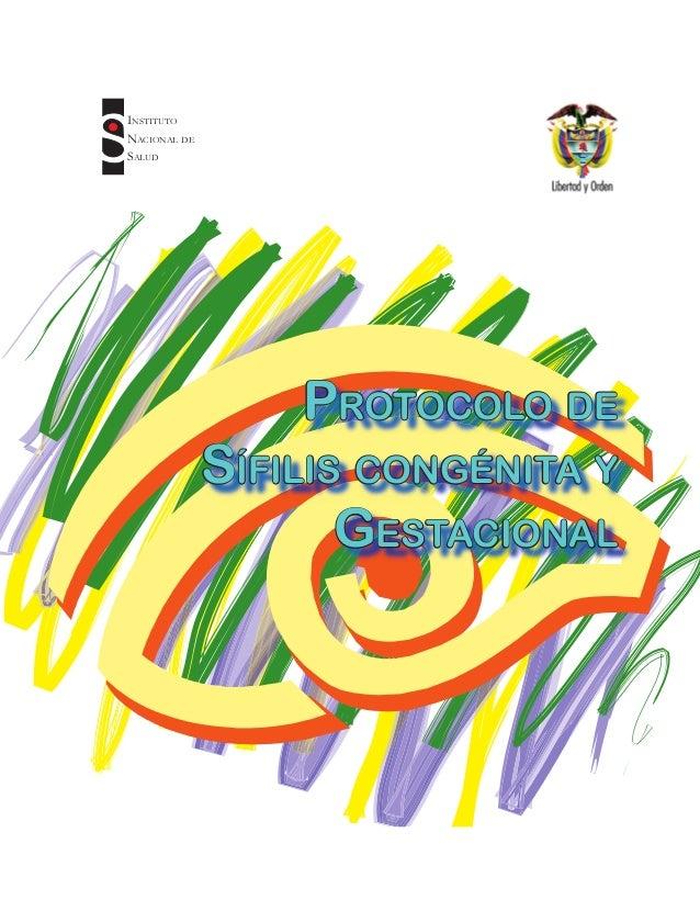 Versión actualizada 2007 - código ins - 310Ministerio de la Protección Social - Instituto Nacional de Salud1Sifilis Congén...