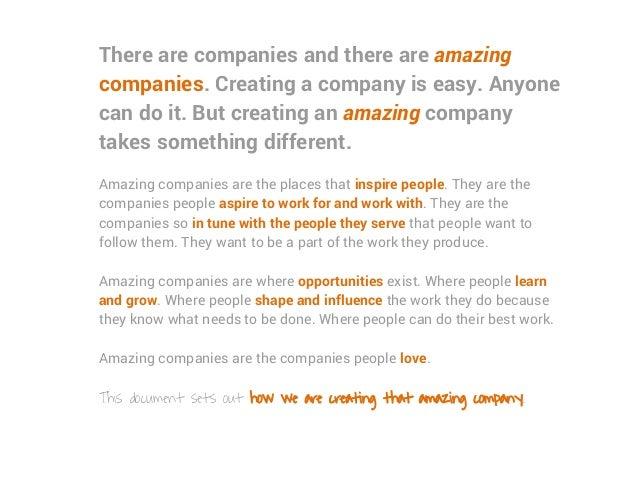 Sift Media Culture Code - Inspiring Positive Action Slide 2