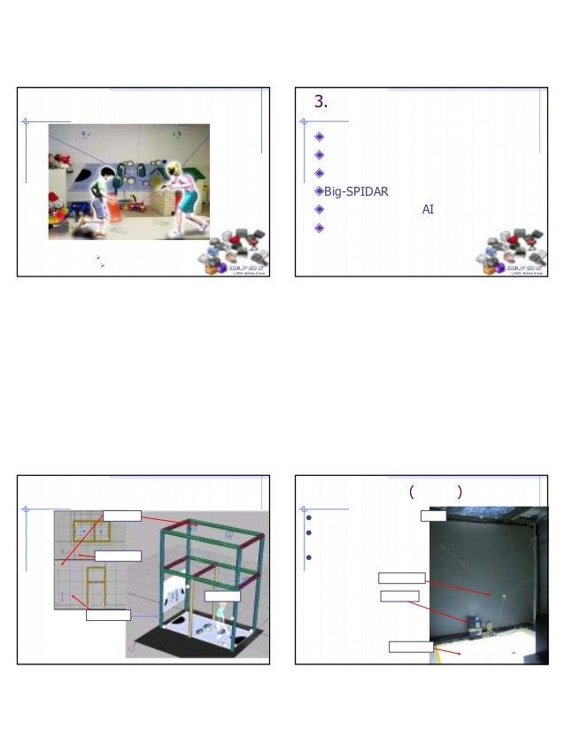 7 IGDA.JP SIG-GT ©2004 Akihiko Shirai タンジブル・プレイルーム プレイルーム,子供部屋内に実装. タンジブルグリップは脱着可能. IGDA.JP SIG-GT ©2004 Akihiko Shirai 3....