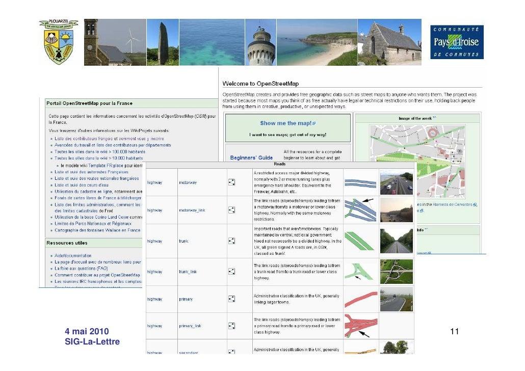 4 mai 2010      La carte libre et interactive de   11 SIG-La-Lettre              Plouarzel
