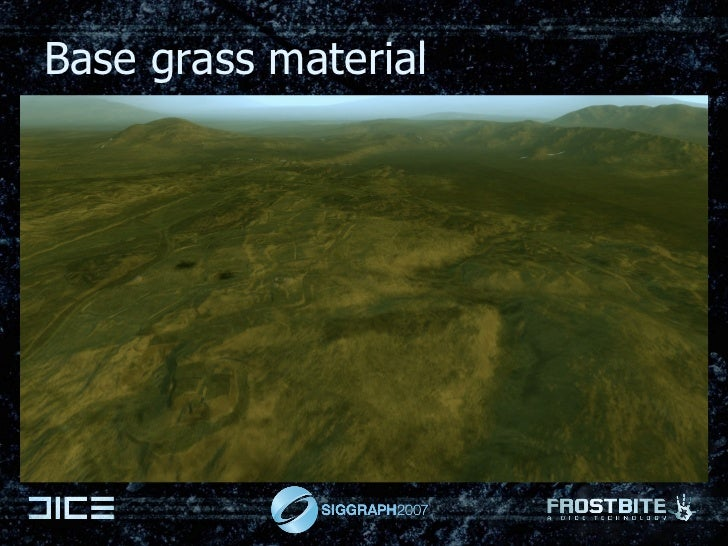 Base grass material