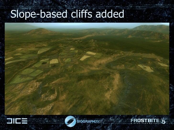 Slope-based cliffs added