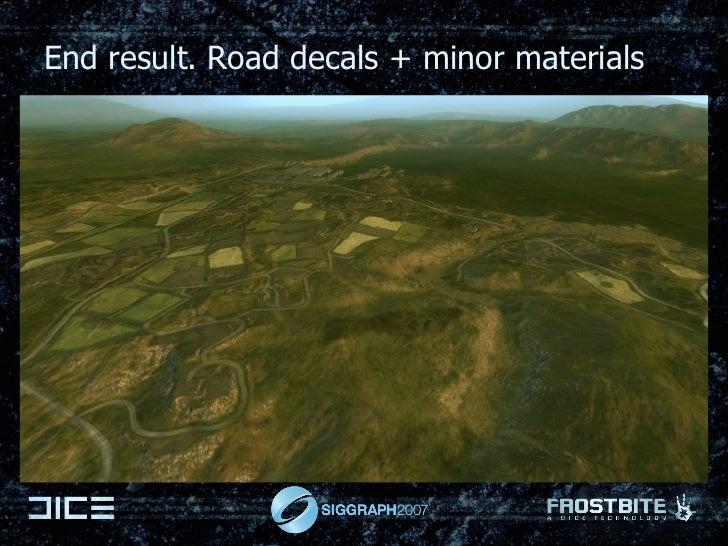 End result. Road decals + minor materials