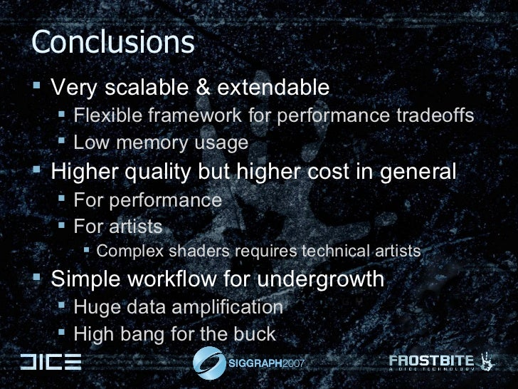 Conclusions <ul><li>Very scalable & extendable </li></ul><ul><ul><li>Flexible framework for performance tradeoffs </li></u...
