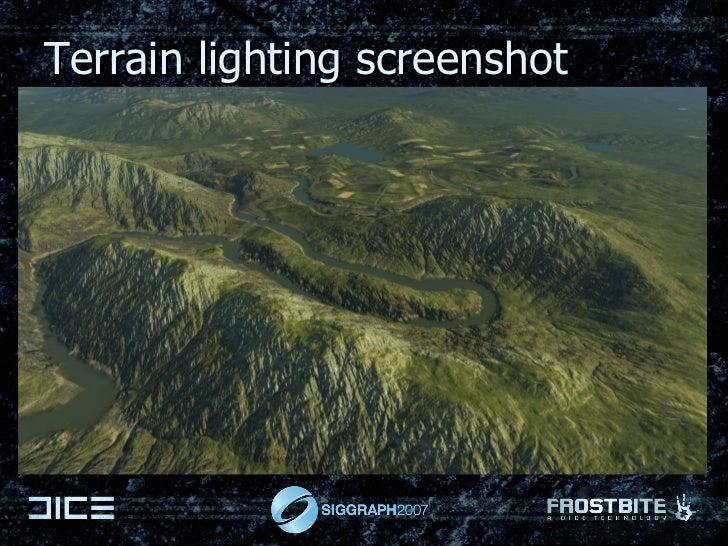 Terrain lighting screenshot