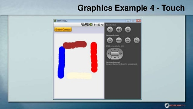 Graphics on the Go