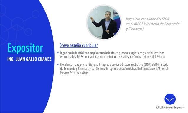 Expositor Breve reseña curricular Ingeniero Industrial con amplio conocimiento en procesos logísticos y administrativos en...