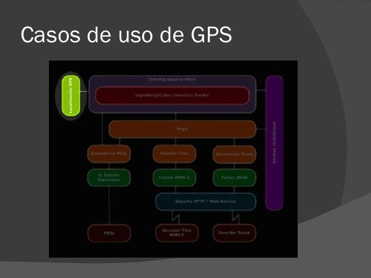 Casos de uso de GPS
