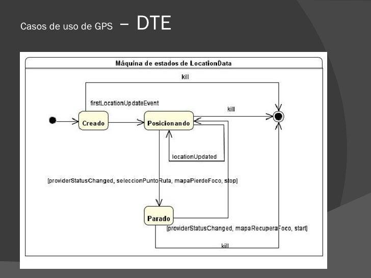 Casos de uso de GPS   – DTE