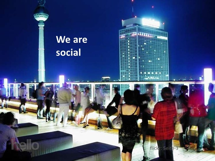 We are social              flickr: Seite-3