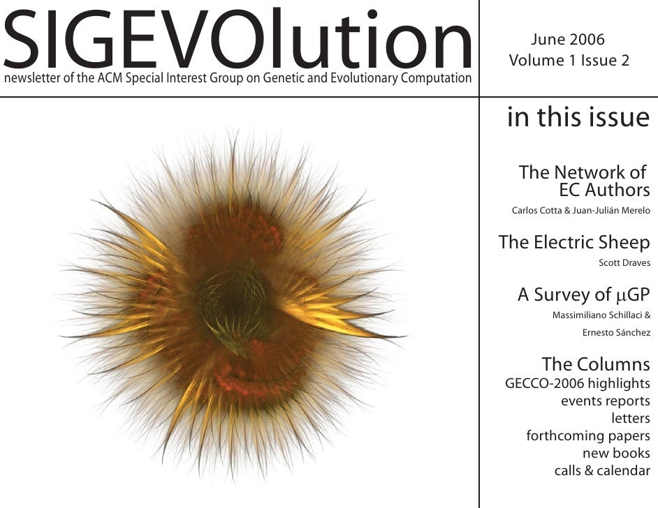 SIGEVOlution                                                                               June 2006                      ...
