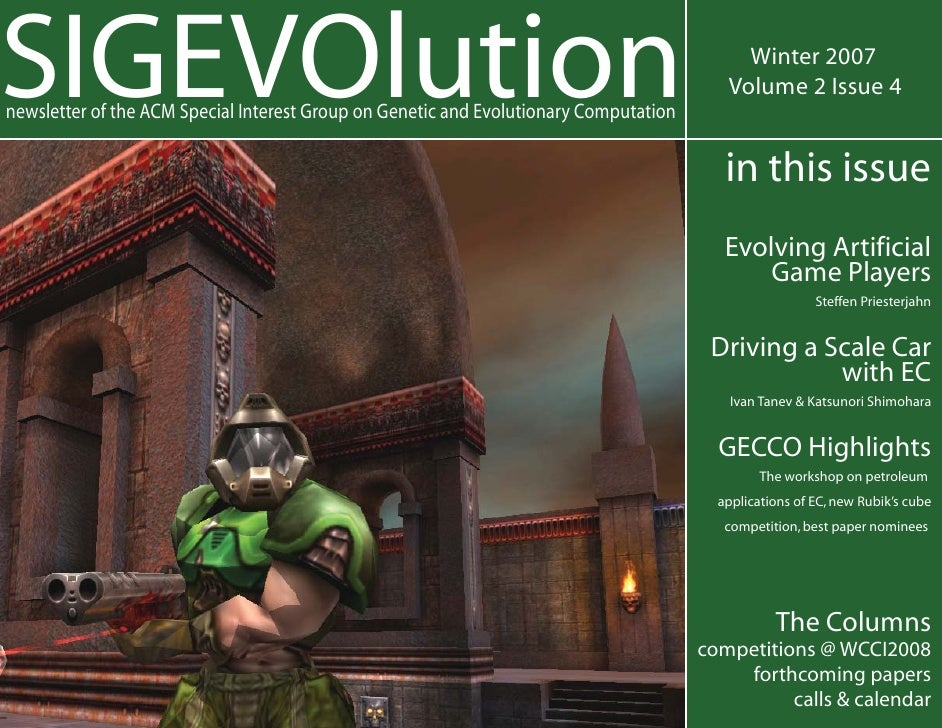 SIGEVOlution                                                                                Winter 2007                   ...