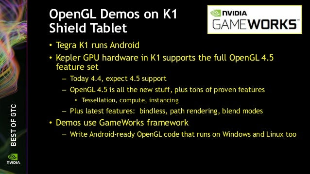 OpenGL 4 5 Update for NVIDIA GPUs
