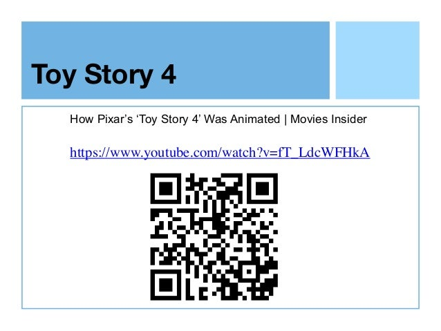 Toy Story 4 How Pixar's 'Toy Story 4' Was Animated | Movies Insider https://www.youtube.com/watch?v=fT_LdcWFHkA