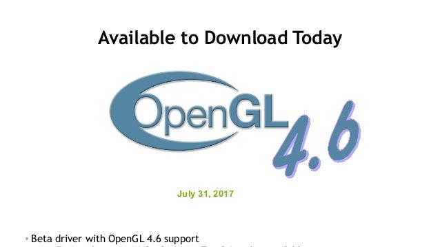 OPENGL 1.4 TÉLÉCHARGER