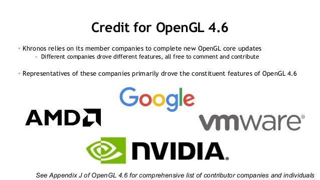 opengl 4.6 download free