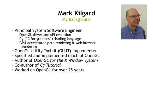 NVIDIA OpenGL and Vulkan Support for 2017 Slide 2