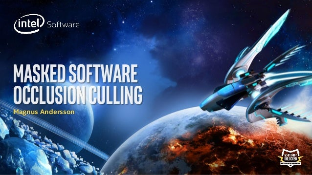 Masked Software Occlusion Culling