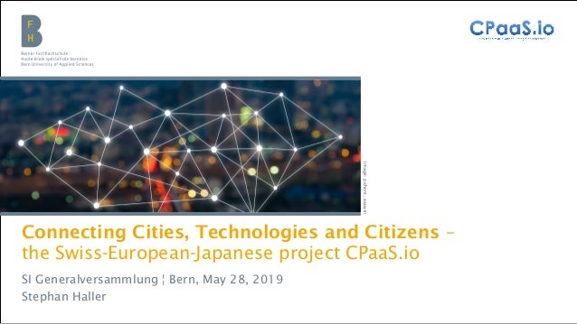 Berner Fachhochschule | Wirtschaft | Institute Public Sector Transformation Connecting Cities, Technologies and Citizens –...