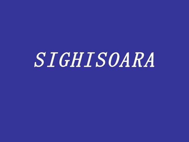 SIGHISOARA