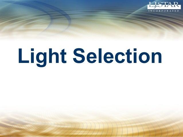 Light Selection